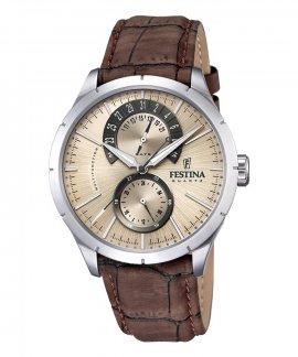 Festina Retrograde Relógio Homem F16573/9