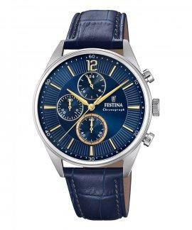 Festina Timeless Chronograph Relógio Homem F20286/3