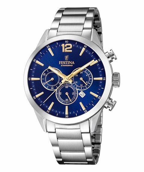Festina Timeless Chronograph Relógio Homem F20343/2