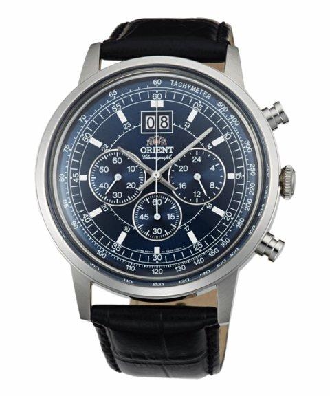 Orient Classic Design Relógio Homem Chronograph FTV02003D0
