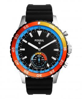 Fossil Q Crewmaster Relógio Homem Hybrid Smartwatch FTW1124