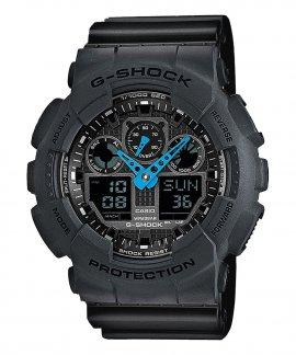 Casio G-Shock Classic Neon Hand Relógio Homem GA-100C-8AER