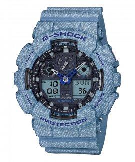 Casio G-Shock Denim Style Relógio Homem GA-100DE-2AER
