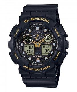 Casio G-Shock Classic Black and Gold Relógio Homem GA-100GBX-1A9ER