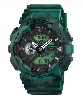 Casio G-Shock Classic Camouflage Relógio Homem GA-110CM-3AER
