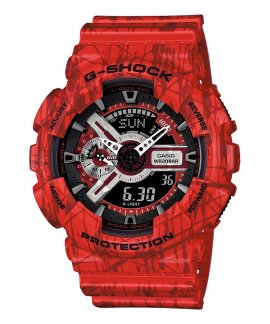 Casio G-Shock Classic Slash Pattern Relógio Homem GA-110SL-4AER