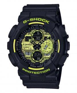 Casio G-Shock Digital Camo Face Relógio Homem GA-140DC-1AER
