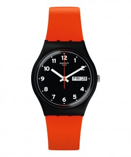 Swatch Power Tracking Red Grin Relógio GB754