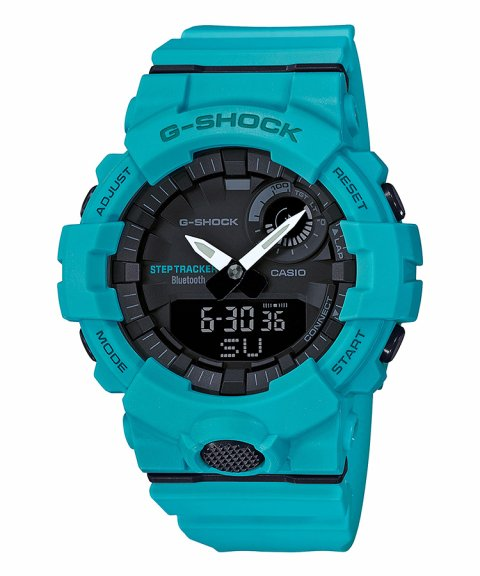 Casio G-Shock Connected Step Tracker Relógio Homem GBA-800-2A2ER