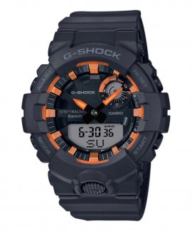 Casio G-Shock Connected Step Tracker Metallic Orange Relógio Homem GBA-800SF-1AER