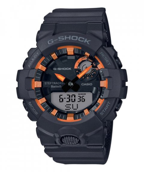 Casio G-Shock Connected Step Tracker Metallic Orange Relógio Homem GBA-800SF-1AER