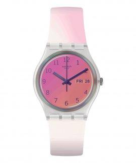 Swatch Transformation Ultrafushia Relógio Mulher GE719