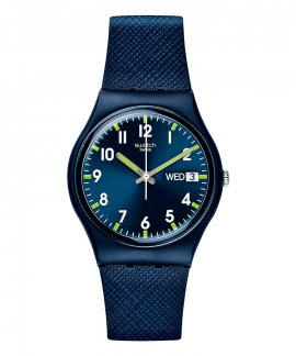 49a7ee3b55d Swatch Classic Sir Blue Relógio GN718
