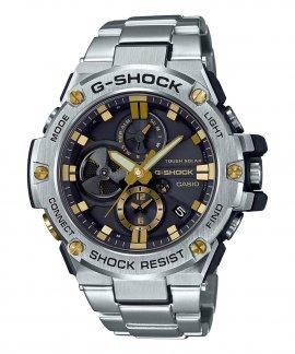 Casio G-Shock G-Steel Solar Bluetooth Gold Relógio Homem GST-B100D-1A9ER