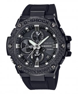 Casio G-Shock G-Steel Solar Bluetooth Relógio Homem Matte Black and Carbon GST-B100X-1AER