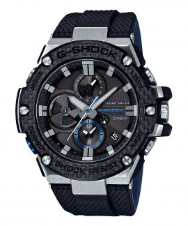Casio G-Shock G-Steel Solar Bluetooth Relógio Homem Matte Black and Carbon GST-B100XA-1AER