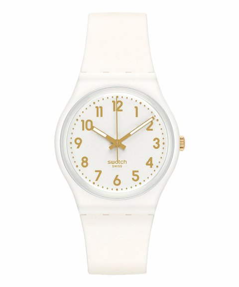 Swatch Classic White Bishop Relógio Mulher GW164