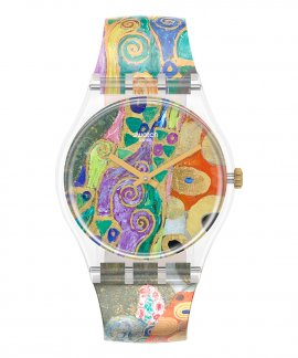 Swatch MoMA Hope II by Gustav Klimt Relógio GZ349