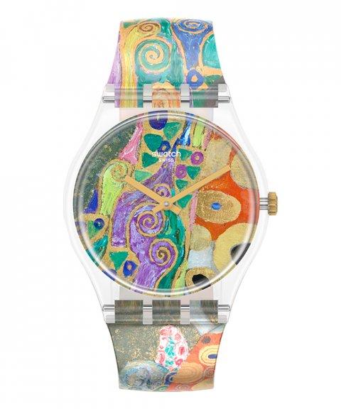Swatch MoMA Hope II by Gustav Klimt Relógio GZ349