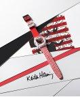 Swatch Keith Haring Mouse Mariniere Relógio GZ352