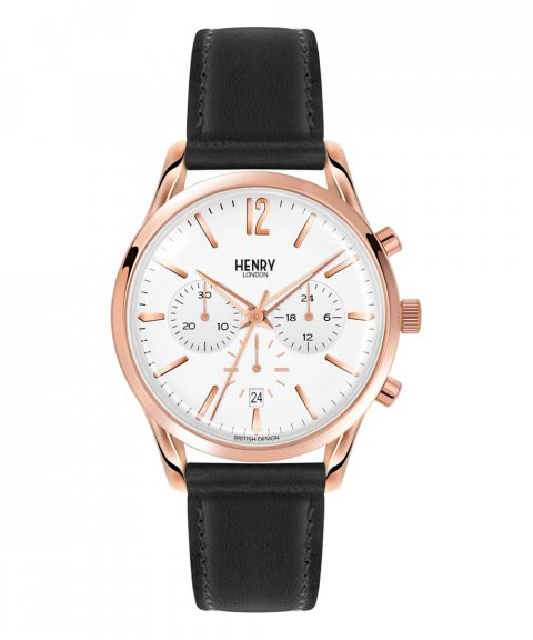 Henry London Richmond 39 Relógio Chronograph HL39-CS-0036