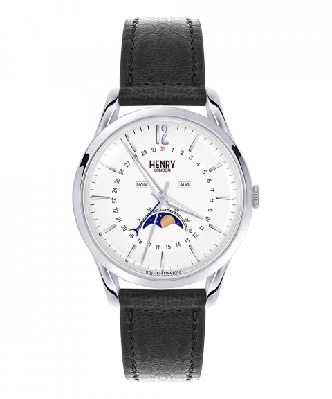 Henry London Edgware 39 Relógio Moonphase HL39-LS-0083