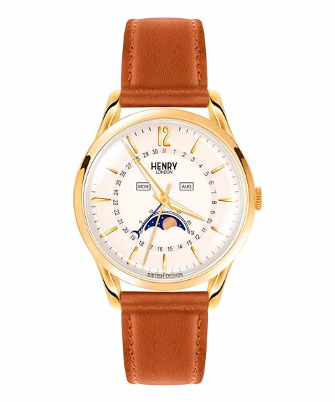 Henry London Westminster 39 Relógio Moonphase HL39-LS-0148