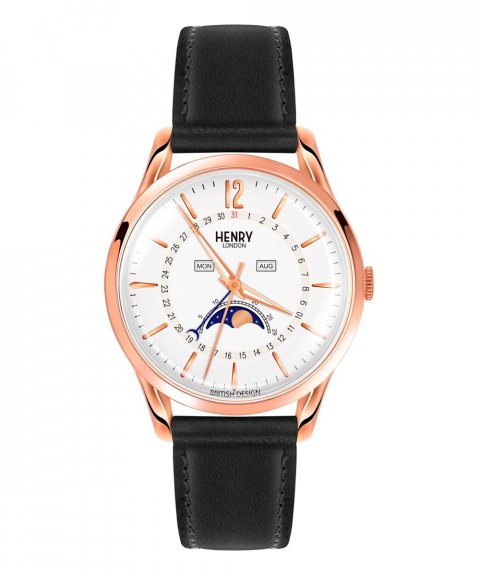 Henry London Richmond 39 Relógio Moonphase HL39-LS-0150