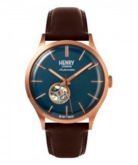Henry London Heritage Automatic 42 Relógio HL42-AS-0278