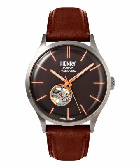 Henry London Heritage Automatic 42 Relógio HL42-AS-0281