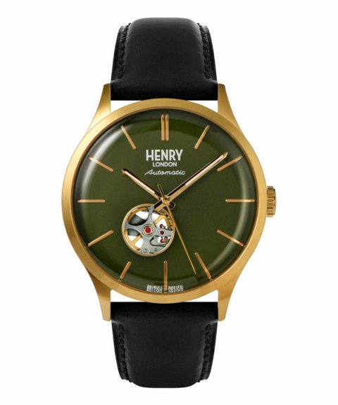 Henry London Heritage Automatic 42 Relógio HL42-AS-0282