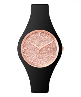 Ice Watch Glitter S Black Rose Gold Relógio Mulher ICE.GT.BRG.S.S.15