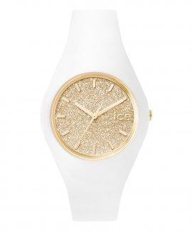Ice Watch Glitter M White Gold Relógio Mulher ICE.GT.WGD.U.S.15