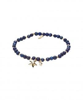Fossil Lapis Lazuli Harmony Joia Pulseira Mulher JA6946710