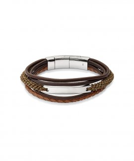 Fossil Vintage Casual Joia Pulseira Homem JF02703040