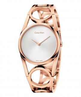 Calvin Klein Round M Relógio Mulher K5U2M646