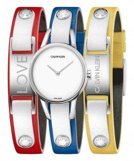 Calvin Klein MyCalvins Relógio Mulher K9D231VX