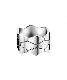 Calvin Klein Triple Snake Joia Anel Mulher KJ5DMR0002