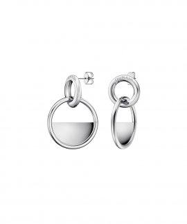 Calvin Klein Locked Joia Brincos Mulher KJ8GME000100