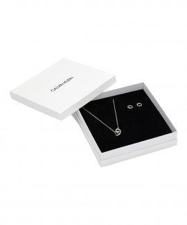 Calvin Klein Beauty Gift Set Joia Colar Brincos Mulher KJ9999999962