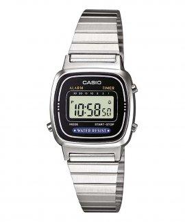 67c3cdbfc37 Casio Collection Retro Relógio Mulher LA670WEA-1EF