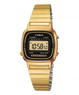 Casio Collection Retro Relógio Mulher LA670WEGA-1EF
