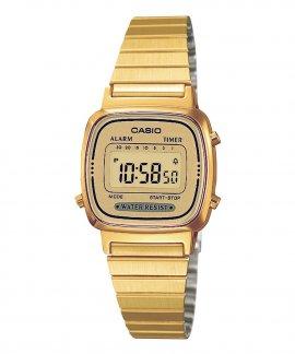 Casio Collection Retro Relógio Mulher LA670WEGA-9EF