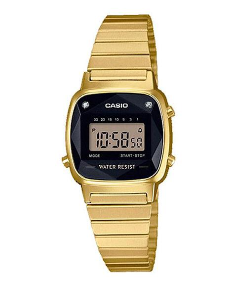 Casio Collection Retro Relógio Mulher LA670WEGD-1EF