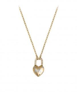Michael Kors Logo Heart Joia Colar Mulher MKJ7026710
