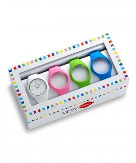 One Colors Slim Box Relógio Mulher OA2026MM62T
