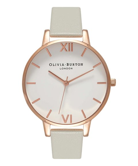 Olivia Burton Plain Big Relógio Mulher OB15BDW02