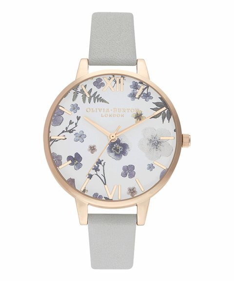 Olivia Burton Artisan Floral Demi Relógio Mulher OB16AR10