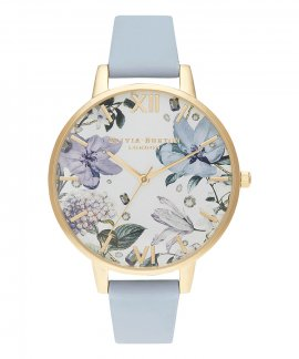 Olivia Burton Bejewelled Floral Big Relógio Mulher OB16BF21