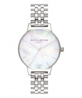 Olivia Burton Plain Midi Relógio Mulher OB16MOP02